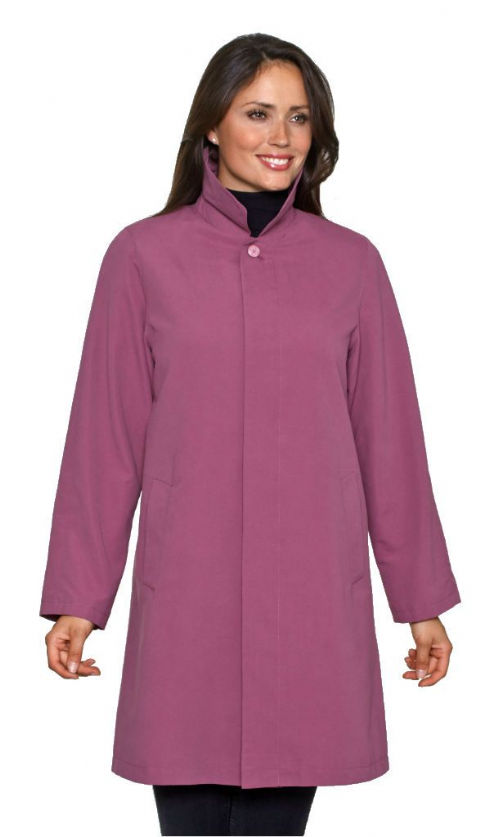 Womens Heather Showerproof Rain Coat db696